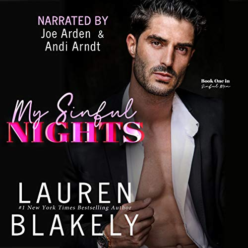 My Sinful Nights Audiobook By Lauren Blakely cover art