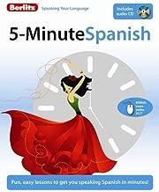 5-Minute Spanish by Berlitz (2009-07-15)