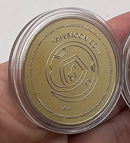 SafeMoon SAFEMOON | 2021 | Cryptocurrency Virtual Currency | Gold Plated Challenge Art Coin