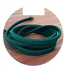 Xpwoz 5/10 / 20M 5mm Kleur Dik elastisch koord DIY Accessoires (Color : NO26, Size : 10M)