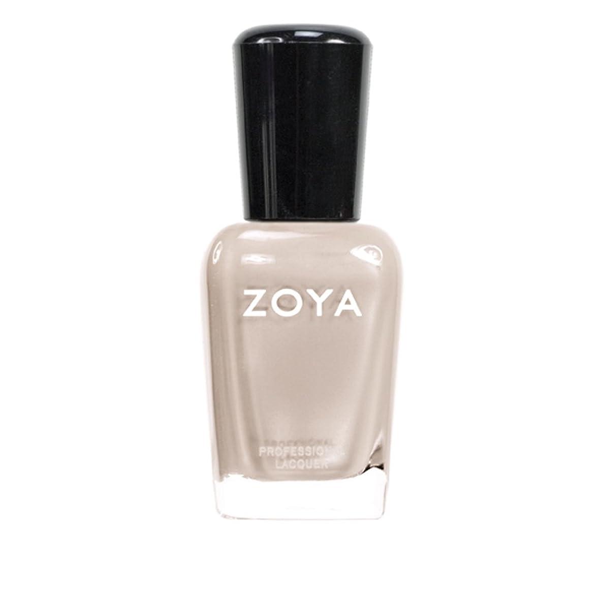 段階神の若いZOYA ゾーヤ ネイルカラーZP561 MINKA ミンカ 15ml 乳白色のヌードベージュ マット 爪にやさしいネイルラッカーマニキュア