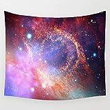 KHKJ Tapiz de Nebulosa cósmica, decoración del hogar para Sala...