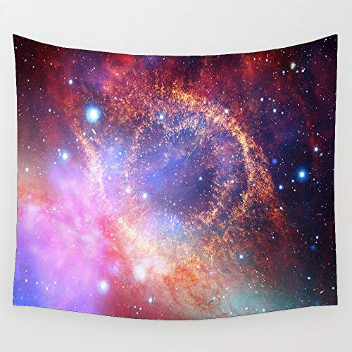 KHKJ Tapiz de Nebulosa cósmica, decoración del hogar para Sala de Estar, Dormitorio, decoración del Dormitorio, Tapiz Personalizado A7 200x180cm
