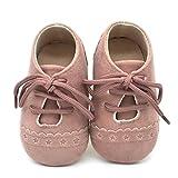 ZODOF Zapatos de bebé para niños Zapatos Antideslizantes de Suela Blanda con Cordones Zapatos Zapatillas Respirable Mocasines Deportes Sneaker Malla Plataforma