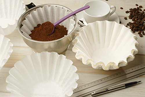 500 x 3 Pint White (Bleached) Commercial Coffee Filter Papers By Cool Products, Wantage (Filtropa / Bravilor)