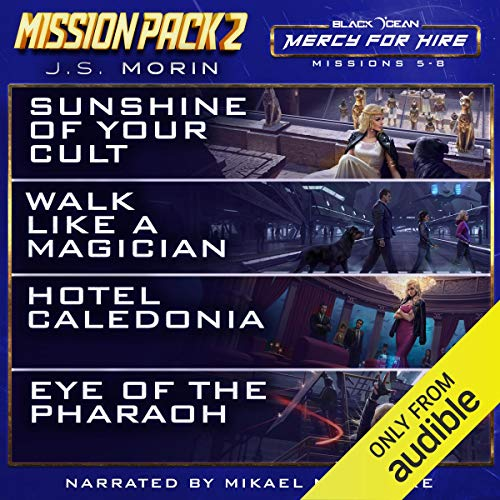 Mercy for Hire Mission Pack 2 audiobook cover art
