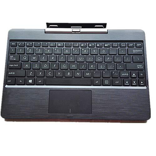 FQ Tastiera del Computer Portatile per PalmRest Caso Intero per ASUS Transformer Book T100 T100TA T100TAF T100TAL T100TAM T100TAR Nero Versione Americana
