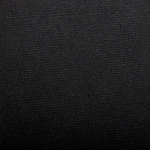 Clairefontaine 93517C Pastellpapier Ingres (50 x 65 cm, 130 g, 25 Blatt, ideal für Trockentechniken) schwarz