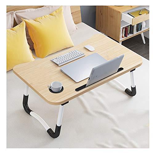 ZQY grote opvouwbare bed lade laptop computer bureau draagbare tablet en telefoon slot perfect voor het kijken films op het bed of persoonlijke eettafel