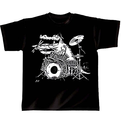 """Batterie t-shirt rock you have """"croco""""-taille l"""