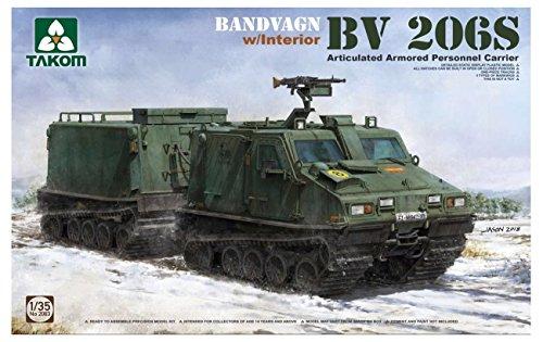 TAKOM TAK2083 Bandvagn BV 206S Articulated APC w. Interior 1/35