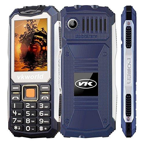 VKWORLD STONE V3S TELEFONO CELLULARE RESISTENTE / ROBUSTO IP65 ANTIURTO ANTIPOLVERE WATERPROOF DUAL SIM (BLUE)
