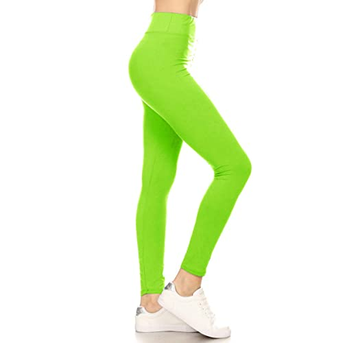 37c0efa350 Leggings Depot High Waisted Leggings -Soft   Slim - More Colors