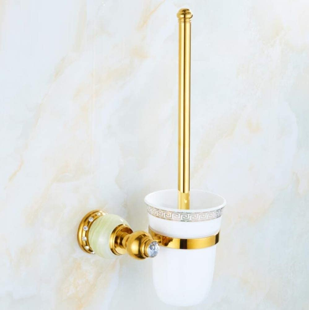 QiXian Europe Style Copper Toilet Excellent Bath Holder Direct stock discount Mounted Wall Brush