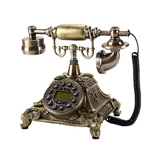 スタイリッシュなクリエイティブ携帯電話、レトロキーキーボード、ハンドメイドのレジンの家庭用電話、リビングルームの寝室のオフィスで使用される