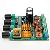 Placa amplificadora - Placa amplificadora de Audio de Alta Potencia Placa amplificadora de Potencia Subwoofer de 3 Canales 22-26VDC