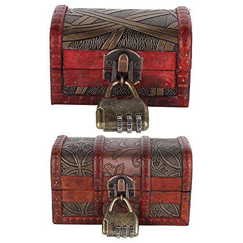Retro Schmuck Aufbewahrungsbox Holz Für Aufbewahren & Ordnen Aufbewahrungsbox Antike Schmuckschatulle Vintage European Style K?Rbe & Beh?Lter