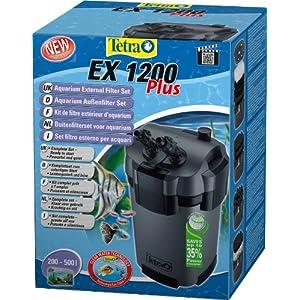 Tetra EX1200 Plus Aquarium External Filter, for Optimum Wa...