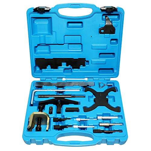 DPTOOL Engine Timing Tool Kit Compatible with Ford Mazda Camshaft Flywheel Locking Tools 1.4 1.6 1.8 2.0 Di/TDCi/TDDi ESCOBOOST 1.6 Ti-VCT 1.5/1.6 VVT Cam Holding Tool 303-1097 303-1550 303-1556