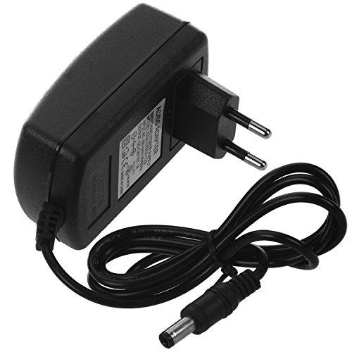 Haude 24 V 1A AC - Adaptador de alimentación para cámara LED Strip Light CCTV (2,1 x 5,5 mm)
