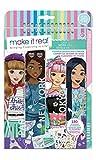 Make It Real- Cuaderno de bocetos para niños, diseño de Ciudad, Multicolor (MR3207)