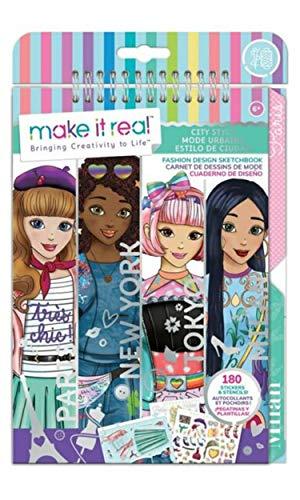 Make It Real- Cuaderno de bocetos para niños, diseño de...