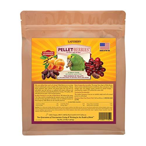 LAFEBER'S Pellet-Berries Pet Bird Food, Made...