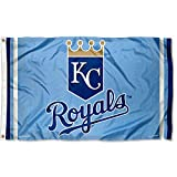 WinCraft Kansas City Royals Powder Blue Flag and Banner