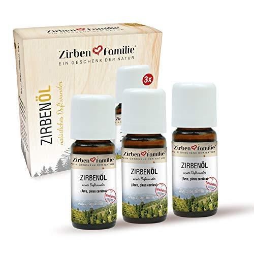 Zirben Familie Zirbenöl 3er-Pack Größe 30 ml