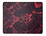 Monolith M-508: REDSHIFT Mouse Pad - XL Pro Gaming Mouse Pad, Durable Cloth Surface, Stitched Anti-Fray Edge | 20x16x0.2