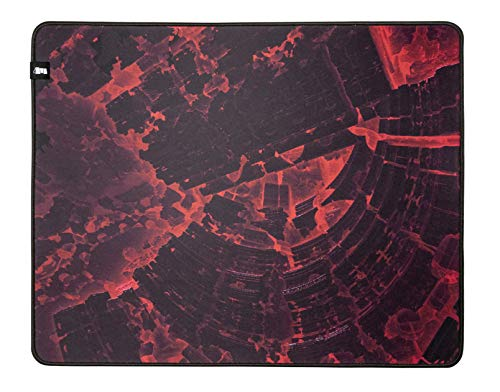 Monolith M-508: REDSHIFT Mouse Pad - XL Pro Gaming Mouse Pad, Durable Cloth Surface, Stitched Anti-Fray Edge   20x16x0.2'   508x406x5mm (M-508: REDSHIFT)