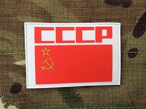 CCCP Retro Russische Sovjet-Unie vlag Airsoft klittenband PVC patch