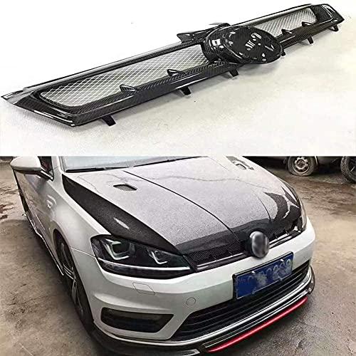 Coche Rejillas Frontales De Radiador Para VW Golf 7 MK7 2014-2017, Delantero Parachoques Radiador VentilacióN Accesorios