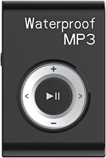 #N/A Mp3 Music Player FM Radio with Clip IPX8 Waterproof Level Home Car - Gold - Black