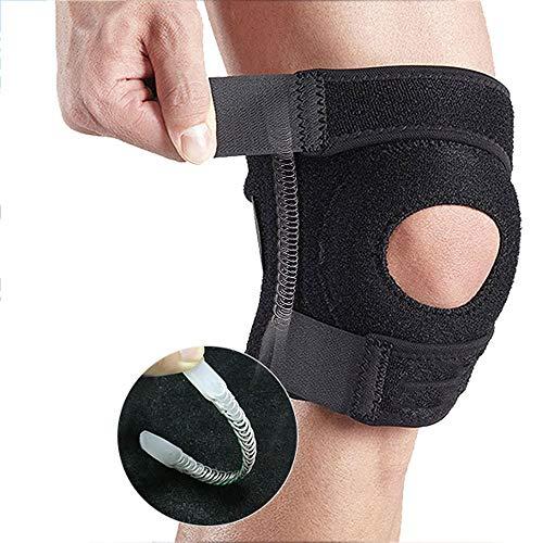 ZSLLO Sport Kniewikkels voor Cross Training WOD's, Gym Workout, Gewichtheffen, Fitness & Powerlifting - Knieriemen voor Squats - voor mannen & vrouwen - Elastische ondersteuning
