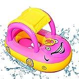 O-Kinee Anillo de Natación Bebe, Flotador Bebe, Anillo de Natación Asient, Flotador de Piscina para Bebés, Anillo de natación Inflable, Piscinas Playa Juguetes de Natación