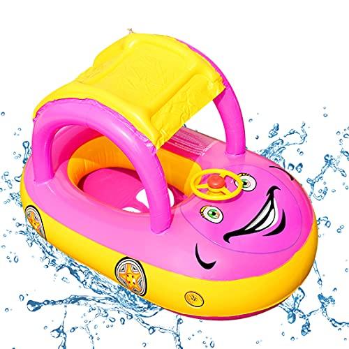 O-Kinee Anello di Nuoto per Bebè, Anello di Nuoto, Seggiolino Piscina per Bambini, Anello Galleggiante, Anello da Nuoto Gonfiabili, Neonati...