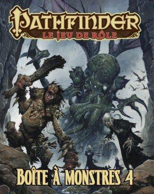 Pathfinder - Caja para monstruos 4 VF, color negro