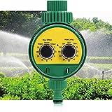 EEUK Automatische Bewässerungsuhr Wasser Timer, Digitaler Wassertimer, Bewässerungsuhr IP65...