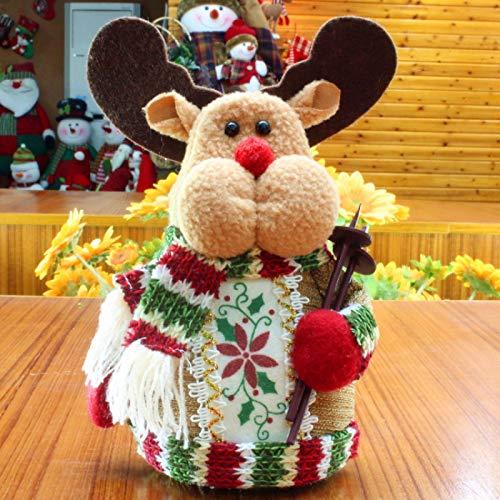 langchao Artículos navideños Muñeco de Nieve navideño Artículos de decoración navideña Artículos navideños Muñeco de Nieve navideño Artículos navideños