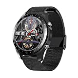 Smart Watch Make/Answer Call, Business Sport Smart Watch for Men Women, Health and Fitness Tracker with Sleep Monitor, Music Player, App Message Reminder, Waterproof Smart Watch for Android iOS Phones