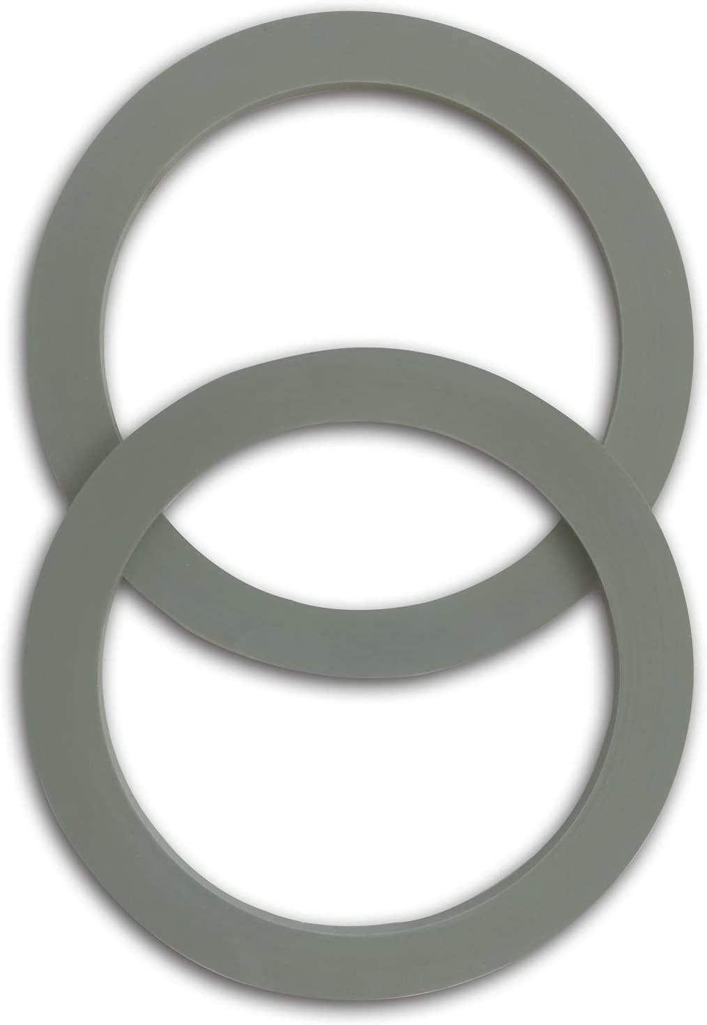 (2 Pack) Grey Blender Gasket, Compatible with Osterizer and Oster Blender Replacement Parts (2)