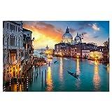 artboxONE Poster 60x40 cm Städte/Venedig Canal Grande in