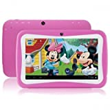 Wopad WOPADKIDS-7Q-PNK Kids 7' Android Tablet, 8 GB, Pink