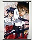 Home Decor High School DXD New Cosplay Wall Scroll Poster Hyoudou Issei & Himejima Akeno 23.6 X 35.4 Inches- 041