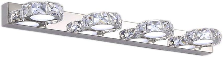 Spiegellampen, badkamer Eitelheit lichten LED licht luxe kristallen cosmetische spiegel bekken dressing tafellamp ronde dr...