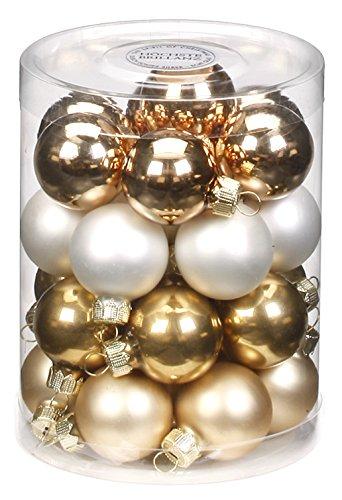 Inge Glas 15165D001 Snow Princess-Mix - Bolas para árbol de Navidad (30...