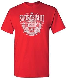 Swordfish 2 Spaceship Parody Adult DT T-Shirts Tee