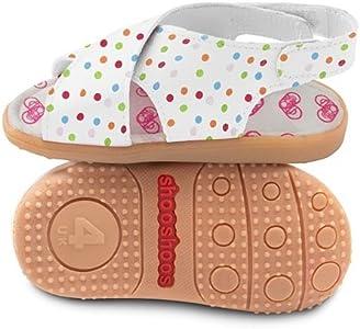 Shoo ShoosShooShoos - Zapatitos de piel suela dura, sandalias de lunares