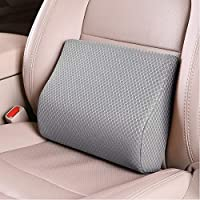 Tishijie Mid/Lower Back Support Cushion for Car Seat (Gray)